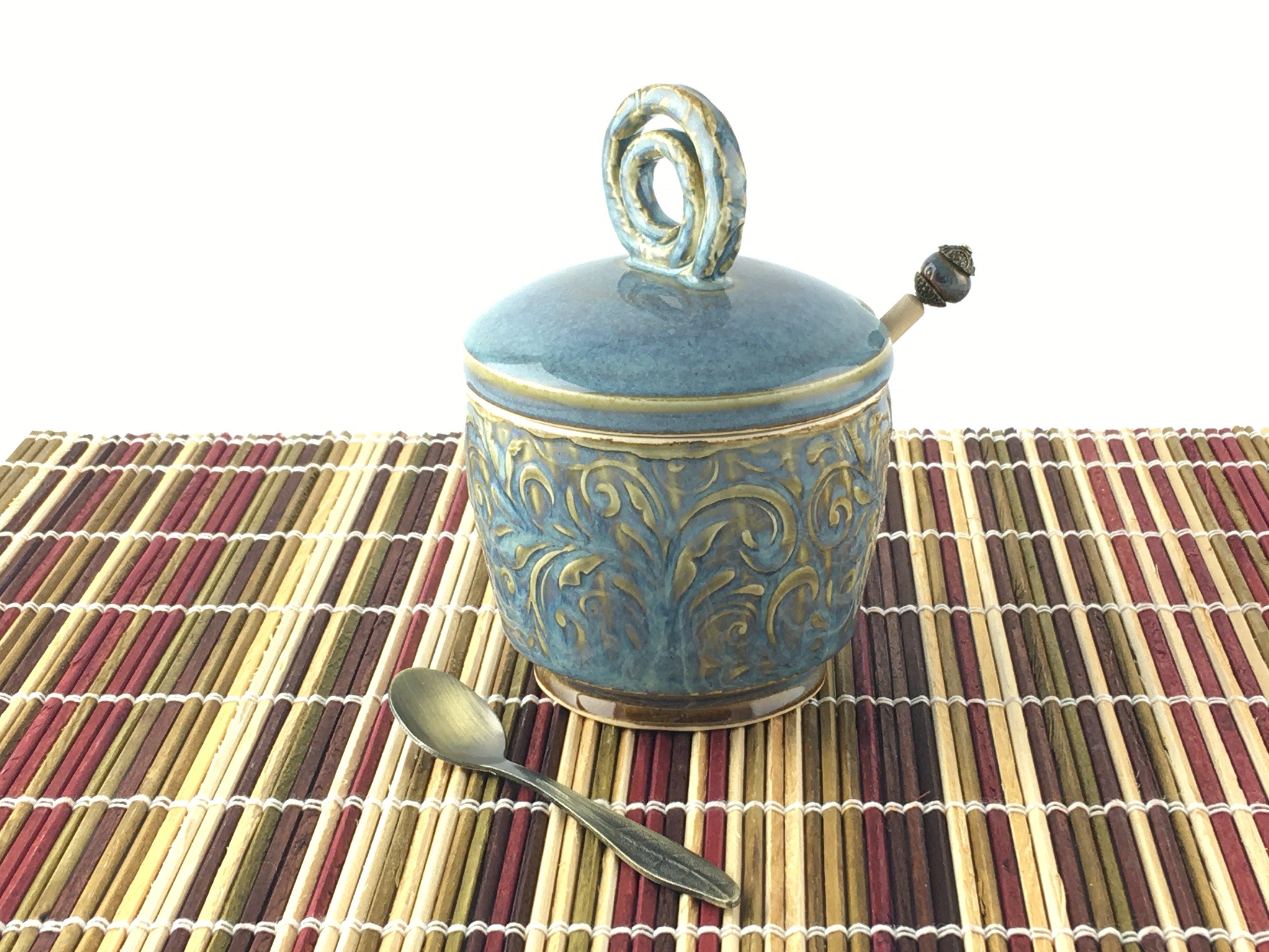 Honeypot Blue Gold Dipper