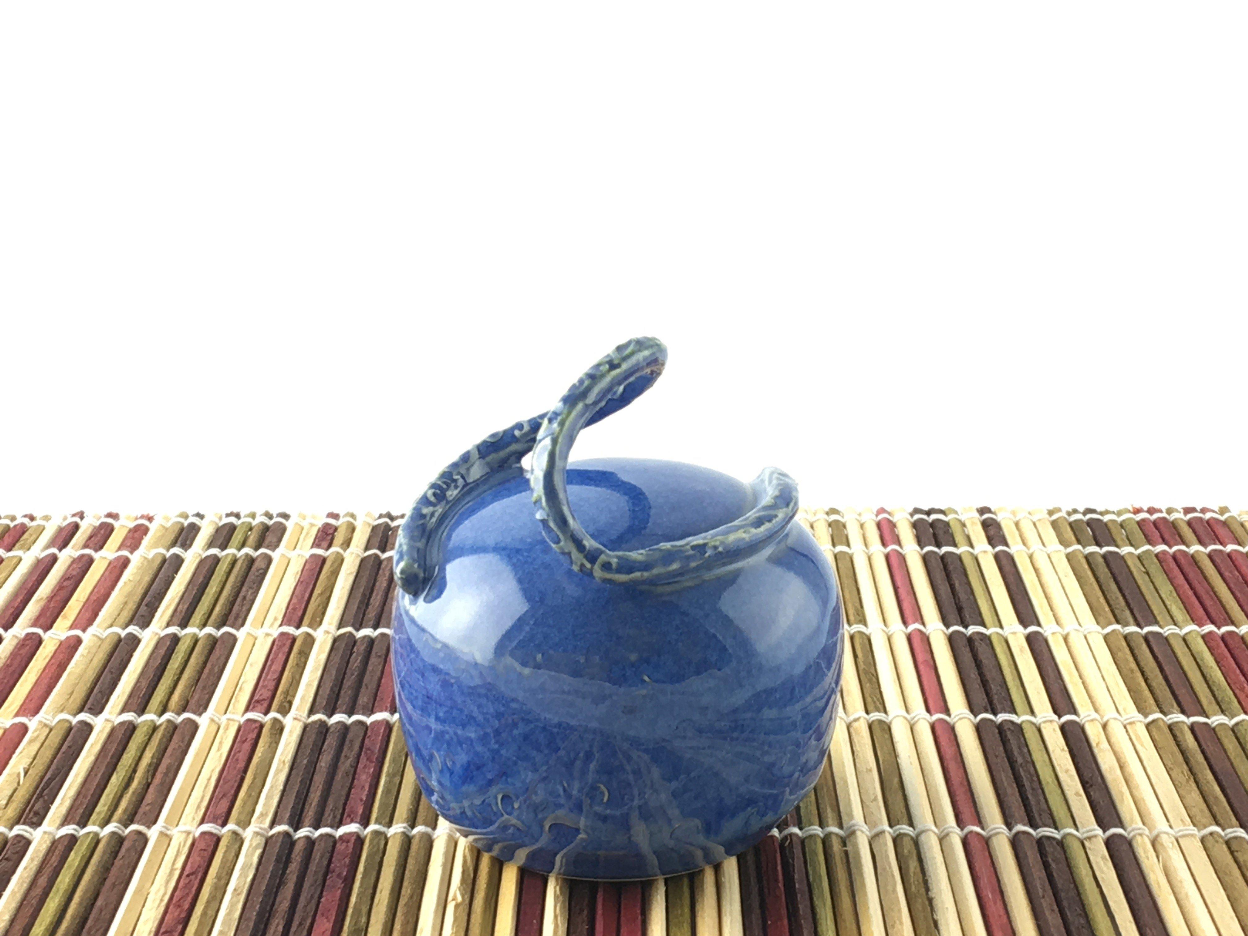 Salt Pepper Shaker Sapphire Blue 1