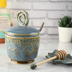 Honey Jar Sugar Dish